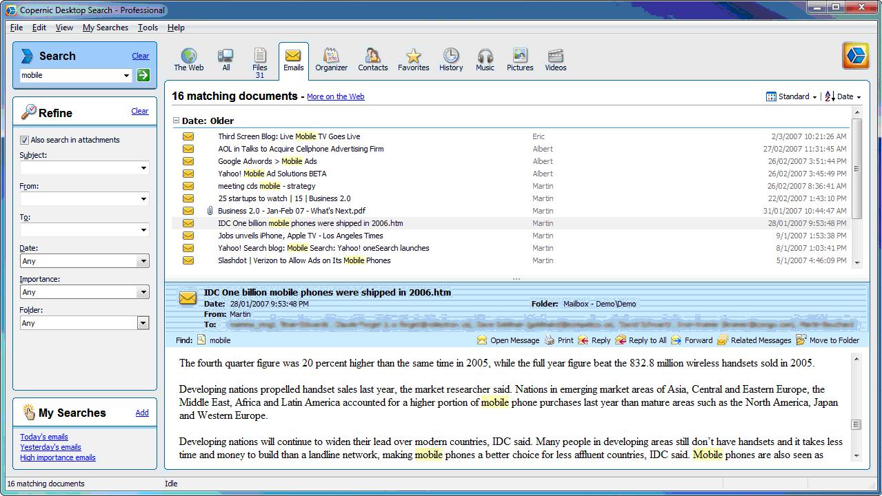 Die Top-Alternativen zur Windows Suche: Lookeen, X1 und Copernic